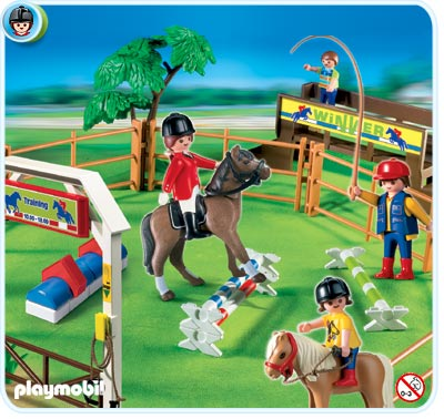 Playmobil manege